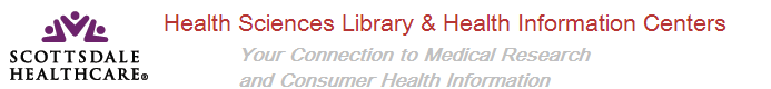 Scottsdale Healthcare Health Science Library Logo